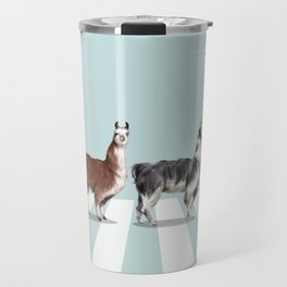 Llama The Abbey Road #1 Travel Mug