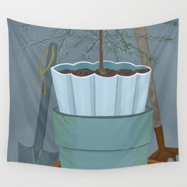 Potting shed Wall Tapestry