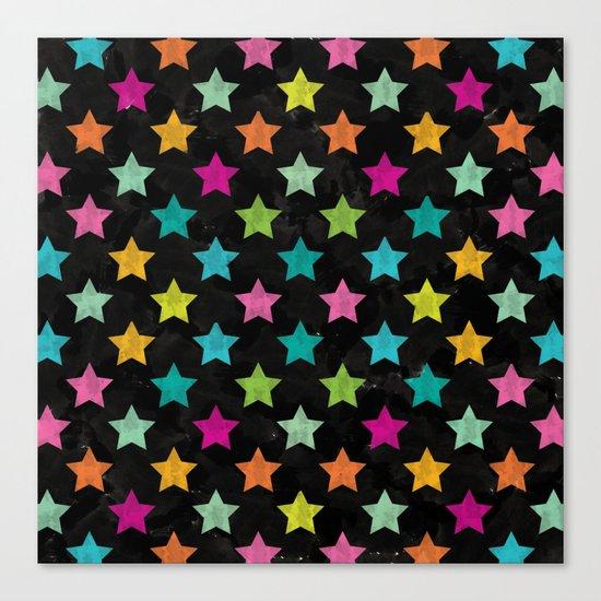 Colorful Star II Canvas Print