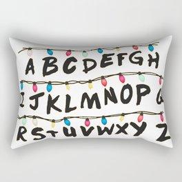 Stranger T - Wall Rectangular Pillow