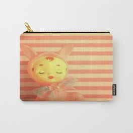 Kitschy bunny topper Carry-All Pouch