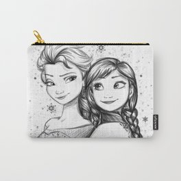Do You Want To Build A Snowman Carry-All Pouch