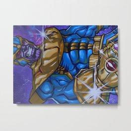 """The Mad Titan"" Metal Print"