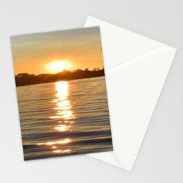 Sunset on the Bay Stationery Cards