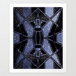 Geometric #958 Art Print