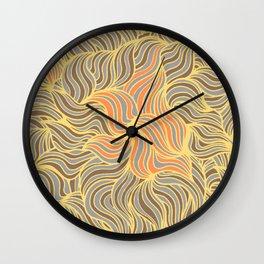Precius Metals Wall Clock