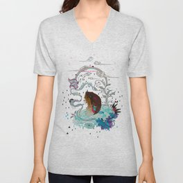 Delicate Distraction Unisex V-Neck