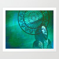 gothic Art Prints featuring Gothic by ARTito