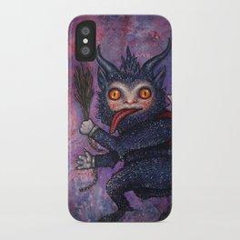 Holiday Krampus iPhone Case