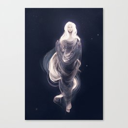 Lady of the Stars Canvas Print