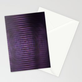 Violet Rays Stationery Cards