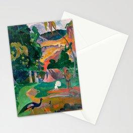 Paul Gauguin - Landscape with Peacocks - Matamua - Matamoe - Le Paysage avec des Paons Stationery Cards