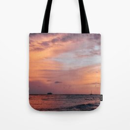 Cotten Candy Sunset Tote Bag