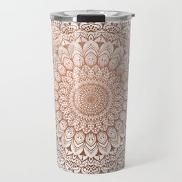 ROSE NIGHT MANDALA Travel Mug
