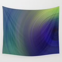 blur Wall Tapestries featuring Blur 1 by Andrea Gingerich