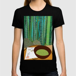 Bamboo Temple in Japan T-shirt