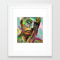 archan nair Framed Art Prints featuring Drift by Archan Nair