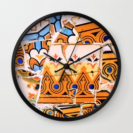 Gaudi Series - Parc Güell No. 4 Wall Clock
