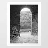 edgar allen poe Art Prints featuring Edgar Allen Poe Musem by OBwan