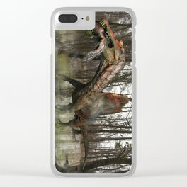 Spinosaurus Clear iPhone Case