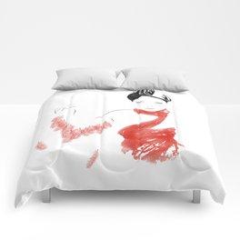 Red Heron Comforters