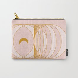 Abstraction_SUN_MOON_LINE_POP_ART_Minimalism_001D Carry-All Pouch