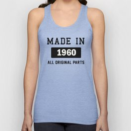 Made In 1969 Unisex Tank Top