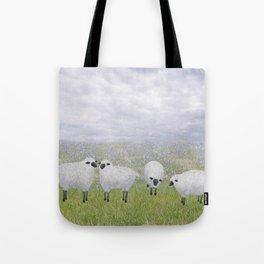 sheep and chicory Tote Bag