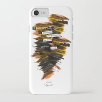 """fitzgerald iPhone & iPod Cases featuring """"There are only the pursued, the pursuing, the busy and the tired."""" F. Scott Fitzgerald quote by Bookish Designs"""