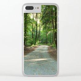 Cultural Landscape 3 Clear iPhone Case