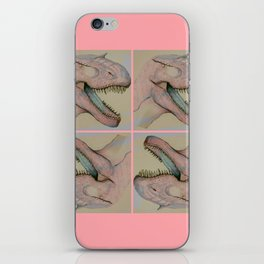 Jurassic party iPhone Skin