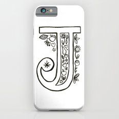 j is for iPhone 6s Slim Case