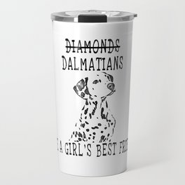 Cute Dalmatian Dog Travel Mug