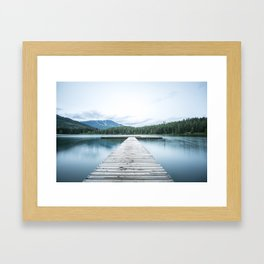 Floating Fun Framed Art Print