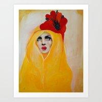 broken Art Prints featuring Broken by Felicia Cirstea