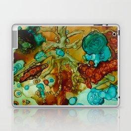 flora beginnings Abstract Laptop & iPad Skin