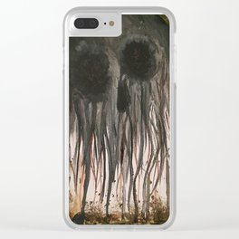 Deathhead Clear iPhone Case