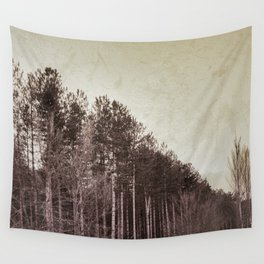 """""""Into the rainy forest"""". Retro serie Wall Tapestry"""