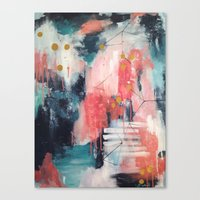 night sky Canvas Prints featuring Night Sky by Laynie Pritchard
