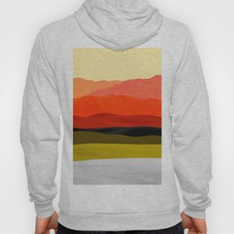 Mountains in Gradient Hoody