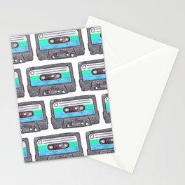 Cassette Patten *Light Blue Stationery Cards