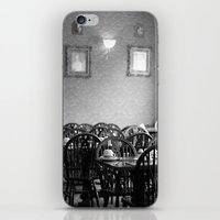 cafe iPhone & iPod Skins featuring Cafe by J. Ann Photography