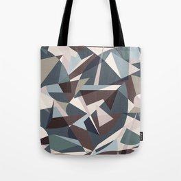 Modern Sharp Shapes Tote Bag
