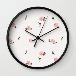 Petite Rose Wall Clock