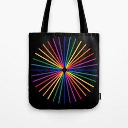 Spectrum Starburst Tote Bag