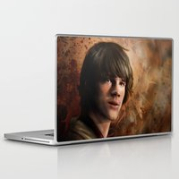 sam winchester Laptop & iPad Skins featuring Sam Winchester by Jackie Sullivan