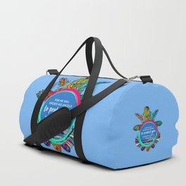 For he will order his angels to protect you wherever you go- Psalm 91:11 Duffle Bag