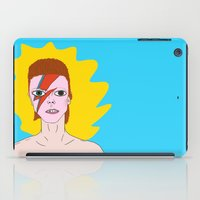 bowie iPad Cases featuring Bowie by tizia