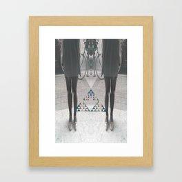 """""""Dizygotic & Disjointed"""" Framed Art Print"""