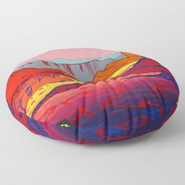 Canyon Floor Pillow